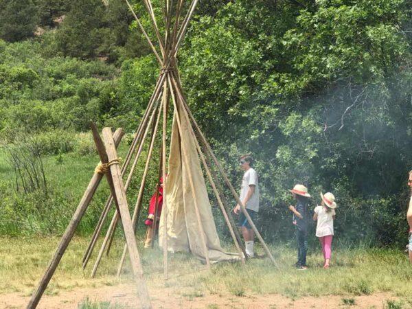 teepee field trip